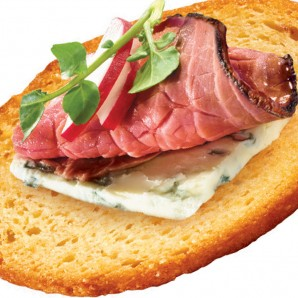 Image of Blue Cheese and Roast Beef